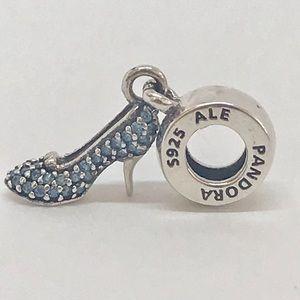 Authentic Pandora Cinderella sparkling slipper